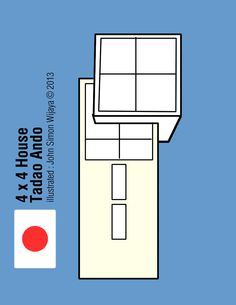 4 x 4 House Architect: Tadao Ando Illustrated by John Simon Wijaya