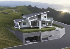 In this case, we wondered which are the most beautiful modern homes that are built. Bungalow House Design, Cottage Design, Modern House Design, Architectural Design House Plans, Modern Architecture House, Architecture Design, Architecture Colleges, Barcelona Architecture, Computer Architecture