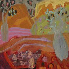 Flower Cultivation And Landscape Gardening Pdf + Landscape Gardening Short Courses Melbourne till Landscape Gardening Sydney its Landscape Gardening Name Ideas Cool Landscapes, Plant Illustration, Australian Artists, Abstract Expressionist Art, Abstract Landscape, Painting, Abstract, Seascape Paintings, Garden Painting