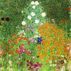 It's About Time: Garden Jewels by Gustav Klimt 1862-1918