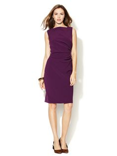 Ruched Side Sheath by Ava & Aiden on Gilt.com