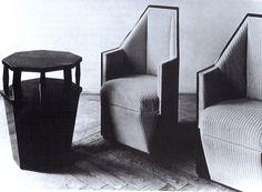 Josef Chochol, Cubist Chair