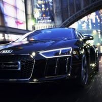 The Audi R8 Star of Lucis: some modern car porn in a fantasy movie