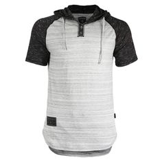 Trendy Mens Fashion, High Fashion, Men's Fashion, Best Hoodies For Men, Short Sleeve Hoodie, Shirt Outfit, T Shirt, Henley Shirts, How To Roll Sleeves