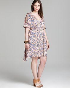 Rachel Pally Shadow Dress. Courtesy of Lovely in LA blog. #plussize #lovelyinla #RachelPally