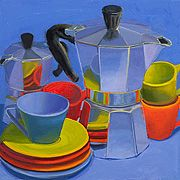 Morning Moka Blue - Marian Dioguardi