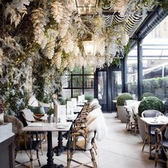 London - Dalloway Terrace Restaurant