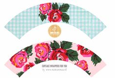 Free printable cupcake wrappers for you by Mooi van Mus