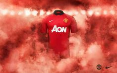 Manchester United's 2013/2014 Home kit.