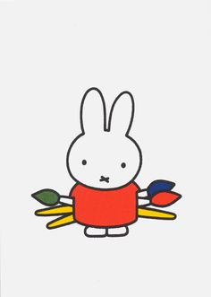 Dick Bruna. // I had ALL these when I was a kid.