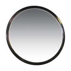 1950s Huge Round Mirror   Mid Century Large Round Mirror