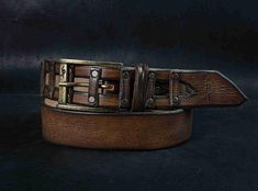 Brown Leather Belt, Design Belt, Mens Belt, Buckle Belt, Mens Style, Brown Belt, Leather work is one of the oldest professions of mankind. It is a skill passed on through generations, dating back to ancient times. It has developed throughout the years maintaining those features of
