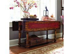 Vicenza Drop Leaf Console Table