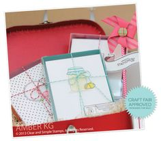 Stationery Boxed Sets | Clear and Simple Stamps by Damask Love | Handmade Stationery | File It: Stationery