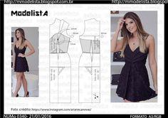 ModelistA: A3 NUM 0340 TOP/DRESS
