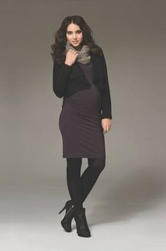 Ripe Maternity Van Tate Dress - loving this complete look from Ripe Maternity! #pregolipregnancy