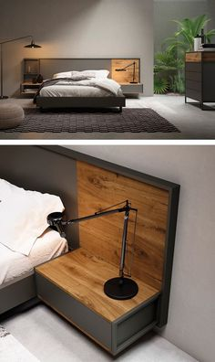 Give Your Rooms Some Spark With These Easy Vintage Industrial Furniture and Design Tips Do you love vintage industrial design and wish that you could turn your home-decorating visions into gorgeous reality? Well, you can do just that Furniture Design, Wooden Bed Design, Bedroom Furniture Design, Bedroom Interior, Modern Bedroom Design, Bed Furniture Design, Bed Design, Bed Design Modern, Bedroom Bed Design