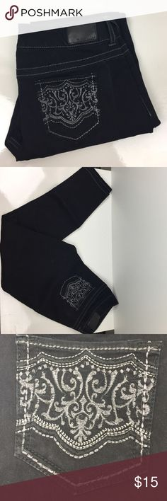 EUC Black Maurices Skinny Jeggings Worn only a few times, very stretchy. Smoke and pet free home, no trades, open to reasonable offers 💕 Maurices Jeans Skinny
