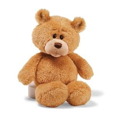 The world's most huggable since 1898. Surface washable. Highest Quality. Gund Little Buddy Tan 13″ Bear Plush. toys4mykids.com