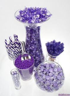 ideas baby shower table purple candy buffet for 2019 Purple Candy Buffet, Candy Buffet Tables, Candy Table, Buffet Ideas, Dessert Tables, Purple Love, All Things Purple, Purple Baby, Birthday Party Decorations