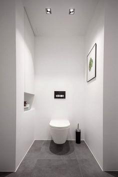 You need a lot of minimalist bathroom ideas. The minimalist bathroom design idea has many advantages. Add A Bathroom, Bathroom Plans, Diy Bathroom Remodel, Bathroom Toilets, Laundry In Bathroom, Downstairs Bathroom, Bathroom Renovations, Modern Bathroom, Bathroom Ideas