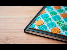 [TUTO] Carnet Oriental Mosaïque Or et Turquoise en FIMO / Polymer Clay - YouTube