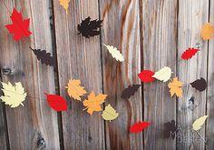 Modern Laser Cut Thanksgiving Decorations | Paper Crave