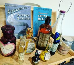 Advanced Potion Making Harry Potter Party Decorations  - writingintotheether.com