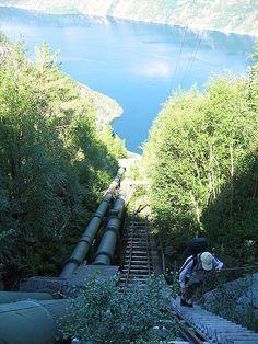 Florli_stairs, 4,444 steps