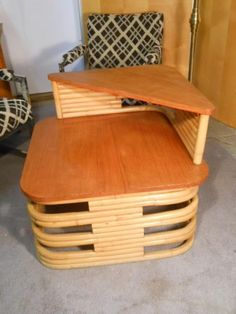 Paul Frankl end table.