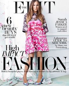 Pret a Mama Sarah Jessica Parker On Cover The Edit! Hello gorgeous! Fashion mom Sarah Jessica Parker stuns on this week's anniversary issue of Net-a-Porter's weekly digital glossy The Edit. The actress and uber stylista looks blooming in the latest springtime florals and designs from the best of London design talent such as #PeterPilotto and #Erdem. See more pictures @ http://www.pretamama.com/celebs/6639-sarah-jessica-parker-on-cover-the-edit