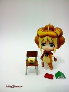 Saber lion.... I like this nendroid... So cute