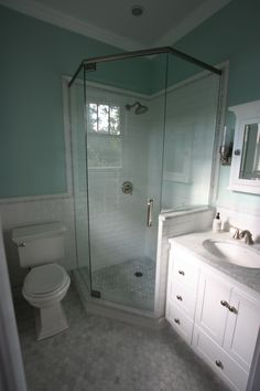 Small Master Bath Reno Is Complete! All In All Very Pleased With The Final  Results!