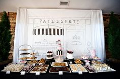 Parisian Bridal Shower- perhaps since we're going to Paris and Spain for the honeymoon? But can look overly hoity toity
