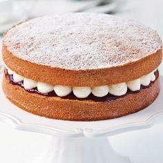 Victoria Sponge - dessert recipes on HOUSE by House & Garden