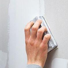 poncer l'enduit de jointoiement sur les plaques Diy And Crafts, Isolation