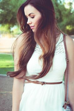 Bellami Hair Extensions, Fashion Blogger, Summer dress