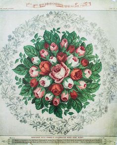 Berlin Work Pattern 'The Rosebud Bouquet'