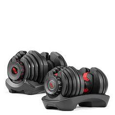 SelectTech 552 Adjustable Dumbbells | Bowflex Belly Fat Workout, Butt Workout, Gym Workouts, Adjustable Kettlebell, Adjustable Dumbbells, Bowflex Dumbbells, Kettlebells, Weight Set, Yoga For Men