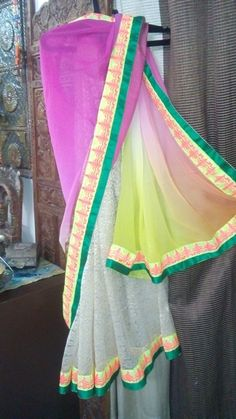 Vry Happy Colord Saree.. ... :)