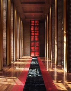 El Porteno Hotel, Buenos Aires designed by Philippe Starck. Cortinas by Gunter Dillenberger.