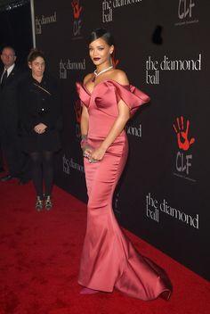 Rihanna - First Annual Diamond Ball Benefiting
