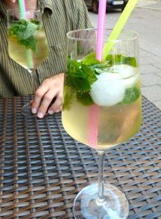 A Hugo cocktail is actually not a German drink, it comes from the South Tyrol region of northern Italy, but is commonplace in many cafes and bars menus in southern Germany especially in summer. A Hugo is made from Prosecco and with its fresh peppermint leaves is similar to a Mojito, but what gives it a distinct, yet refreshing flavor is elderflower syrup. I can't think of any drink as refreshing as a Hugo. If you're traveling in southern Germany or northern Italy this summer I highly…