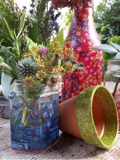 Facebook summer holiday flower arranging club Jam Jar Flowers, Simple Flowers, Holiday Club, Wow Products, Flower Arrangements, Create Your Own, My Etsy Shop, Table Decorations, Group