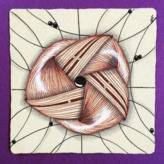 #zenuari2017 day 29  #zenart #string #tangle #2daysleft #spin
