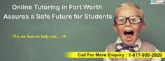 Online Tutoring in Fort Worth Assures a Safe Future for Students