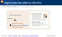 Como seguir um Blogue! | Andreia Pereira Blog