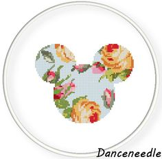 Instant Download,Free shipping,Counted Cross stitch pattern,Cross-Stitch PDF,cloth pattern,vintage rose mice,zxxc0980 by danceneedle on Etsy