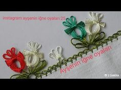 This Pin was discovered by Ley Hand Embroidery Stitches, Needle Lace, Crochet Lace, Knots, Needlework, Diy And Crafts, Crafting, Youtube, Point Lace