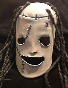 halloween costume set straight jacket leather horror mask slipknot corey scary ebay - Creepy Masks For Halloween